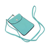 Shoulder strap PVC leather phone bag mobile phone carry bag for iphone 4