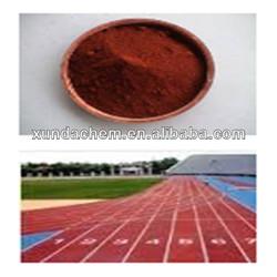 Asphalt iron oxide colours