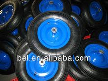 Hot sale high quality multifunctional pneumatic rubber wheel for wheelbarrow 350-8
