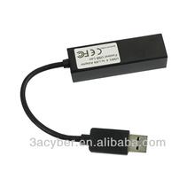 USB 3.0 1000Mbps Gigabit Ethernet RJ45 External Network Card Usb To Lan Port Adapter