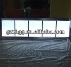 menuboard acrylic frame,menu light frame,acrylic menu board