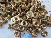 brass coloured fastener