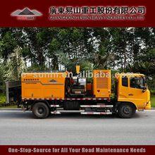 Clyb-cy2000 montado en un camión de parches baches tar