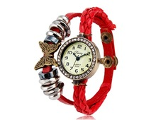 2014 Leather Bracelet Watches Made in China Cheap Watches Fashion Popular OEM Watches for Ladies MLCBW296