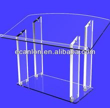 High quality plexiglass pulpit