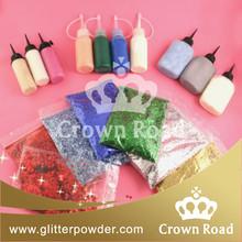 1/128 diy glue glitter powder in bulk