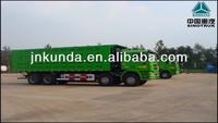 sinotruk HOWO 8*4 12- wheel sand tipper dump truck