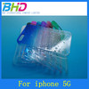 Case for mobile phone, water drop 3d effect raindrop 3d plastic case for Apple iphone 5 5s 5g