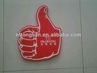 custom foam finger,custom foam hand