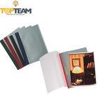 Color Spine Meatal Fastener Plastic File Folder, PP Snap Report File