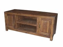 modern wooden sheesham wood tv hall unit cabinet design home furniture