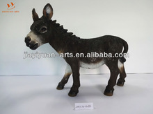 Polyresin mule /ass for home decoration /garden decoration