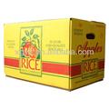 Padrão da exportação caixa de papelão ondulado para embalagens apple( xg- cb- 066)