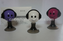 3.5mm earphone Y splitter for iphone/ipod/MP3/HTC/sumsang with suction cup