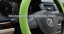 brand car steering wheel cover 2014 brand new eco-friendly silicon made hot sale
