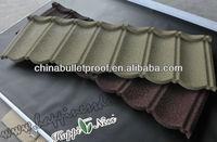 stone coated metal roofing shingles 5-tab asphalt shingle