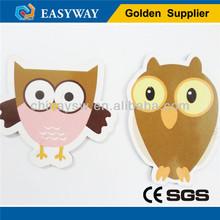 Custiom hawk and owl shape magnets for fridge