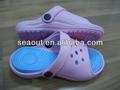 crianças sapatos nude coloridas de eva sapatos