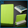 4 folding design leather cases cover for iPad Air accessory