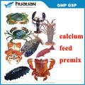 los suplementos para el camarón y cangrejo de calcio y magnesio suplementos del estanque de los suplementos minerales