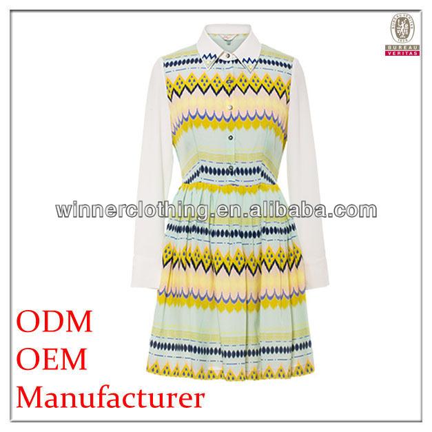 2014 moda longa ladies ' mangas tecido de poliéster combinação de alta qualidade graciosa primeira comunhão vestidos