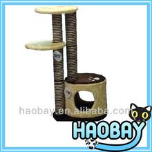 Hot Sale Wholesale Cat Scratch Trees Cat Condo