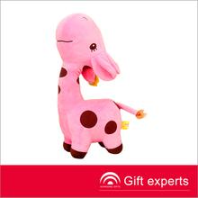 promotional cartoon gifts giraffe plush toys,festival gifts cute horse stuffed plush toys