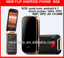 """3g 3.2"""" dual core no brand android phones android 4.1 W58"""