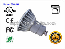 2013 new design plastic heatsink diameter 50mm High brightness 5W MR16 LED spot light with CE Rohs Erp improved