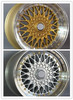Various Of BBS RS Replica Alloy Wheels For Your Choice