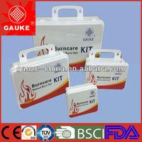 portable first aid nursing kit burn care kit,emergency burn care box