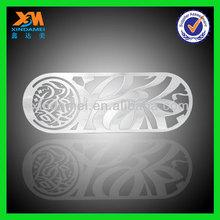 brass logo metal etching