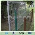 pvc enduit treillis métallique clôture de jardin en métal plié