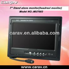 """7"""" best car LCD Headrest/Stand av monitor cheapest lcd av monitor(MU7003)"""