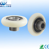 high quality single glass shower door rollers with bearing