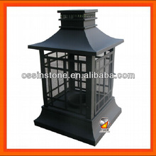 Rectangle Pagoda Patio Outdoor Fireplace