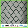 green PVC coated diamond wire mesh fence vendors (Anping factory, China)