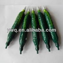 Green Pepper Pen Creative eggplant Shapecabbage Pen, rainbow brand ballpoint pen