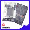 plastic ziplock phone case bag with euro hole