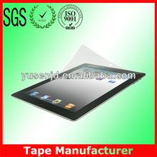 Anti-fingerprint three layer PET protective film for ipad mini
