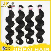 JP factory price cuticle intact unprocessed top quality virgin brazillian human hair