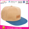 Leather patch design hemp custom snapback hats for your design