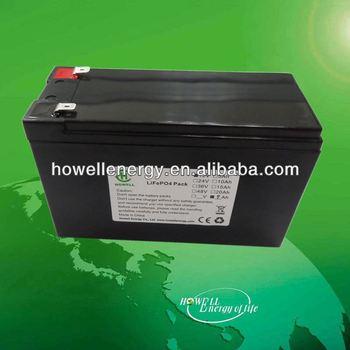 Long cycle lifepo4 solar battery 12v 30ah/Lithium ion battery car battery