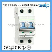 2 pole dc 800v dc mcb breaker for solar system c45 mini circuit breaker