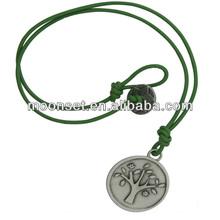 Cheap Fashion Handmade Rhodium Family Tree Pendant Necklace