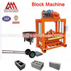 For Family Or Small Factory To Do Business Of Concrete Block Machine! QT4-40 Semi-auto Concrete Block Making Machine For Sale