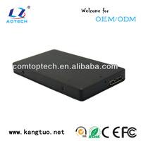 OEM USB 3.0 mini SATA mSATA SSD adapter external Enclosure case with cable