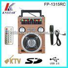 Ham AM/FM/SW1-2 radio with Karaoke/USB/SD jack