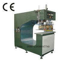 Radio frequency PVC membrane splicing machine