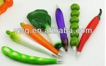 RED Pepper Pen Creative round ball Shape Pen messenger ball pen